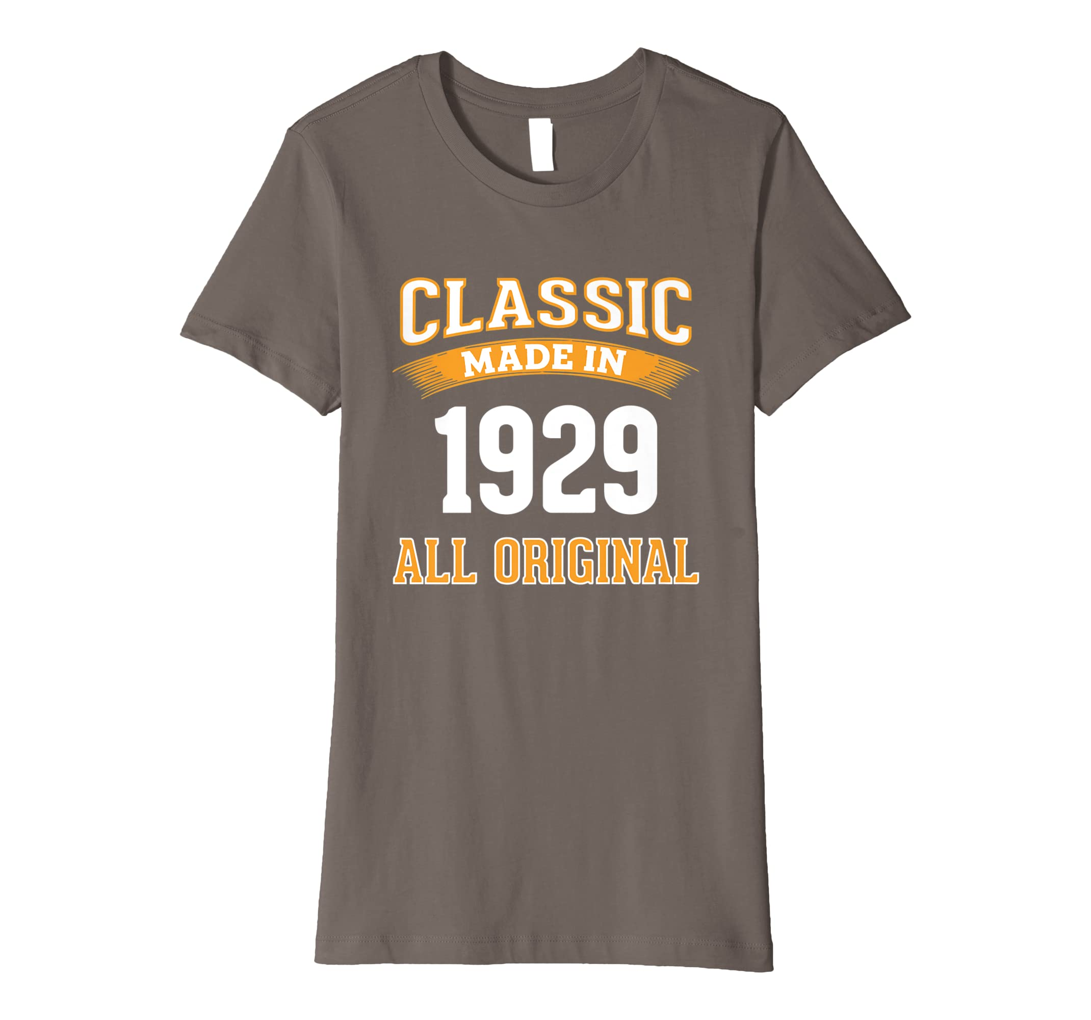 Amazon Made In 1929 Vintage 90th Years Old Birthday Shirt Gift