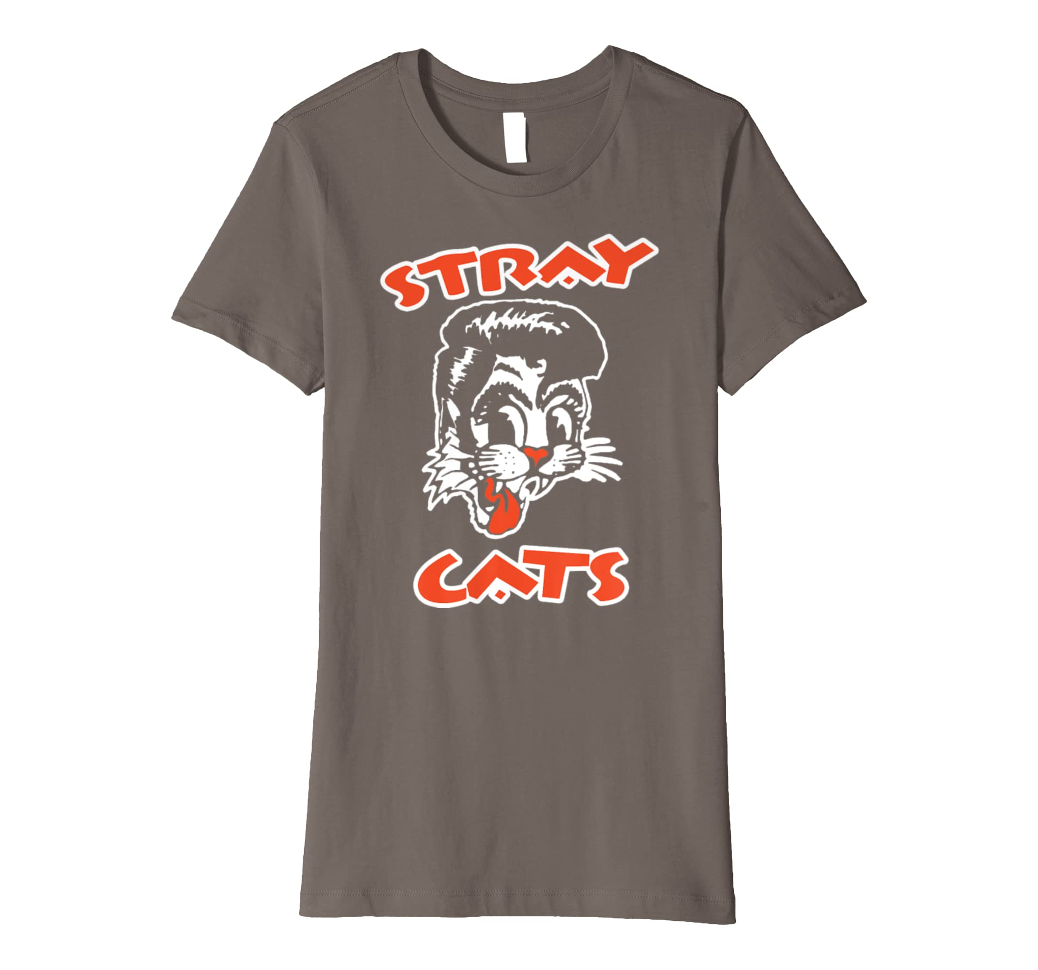 Amazon Com Stray Cats Rockabilly Cool Cat Tattoo T Shirt Clothing
