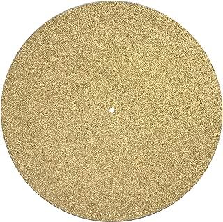 Turntable Mat Slipmat Cork (Diameter: 30 Centimeter Thickness: 1.5 Millimetre) Vinyl Record Improve Sound Quality Reduce Vibrations Absorb Resonances DIY Upgrade Best on Metal Platter - Unihom