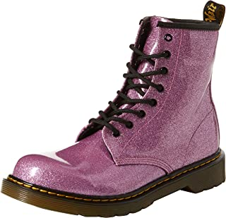 Dr. Martens Kid's Collection Womens 1460 Patent Glitter Youth Delaney Boot (Big Kid)