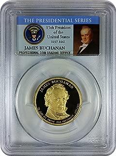 2010 Buchanan Presidential San Francisco $1 DCAM PCGS PR-69