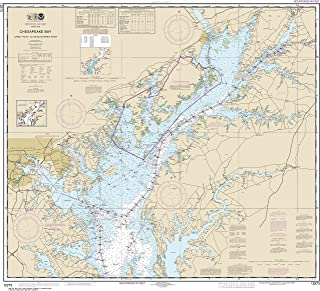 NOAA Chart 12273 Chesapeake Bay Sandy Point to Susquehanna River: 35.37