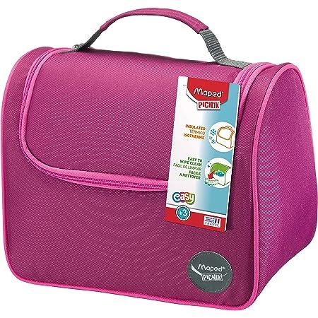 Maped Picnik Origins - Lunch bag Sac à Déjeuner Isotherme pour Enfants avec Anse de Transport - Facile à nettoyer - Rose