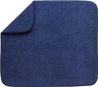 Kitchen Basics 594301 Reversible Dish Drying Mat, Large, Blue