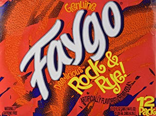Faygo - Rock & Rye! Soda - 12 Pack of 12-oz. Cans