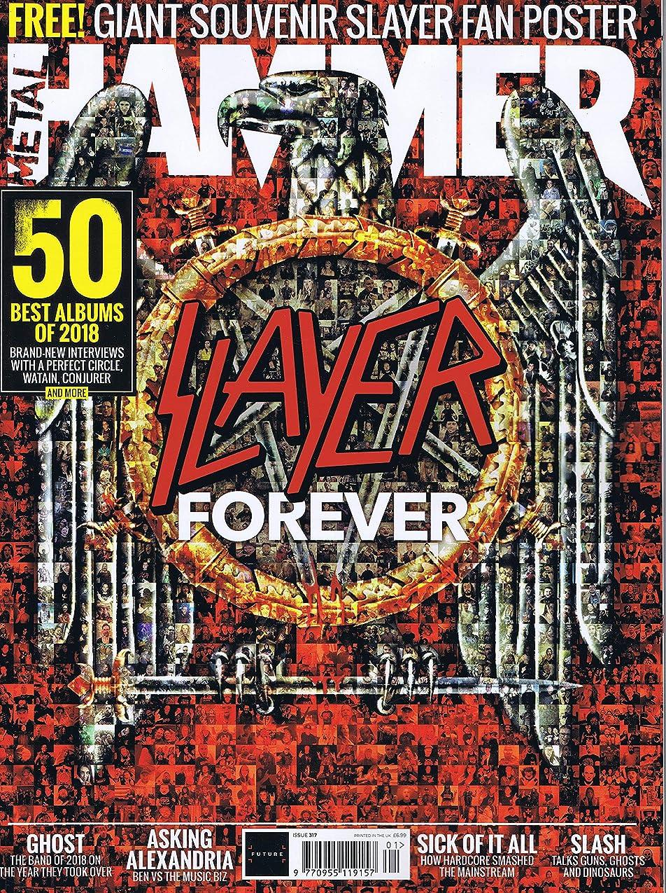 統合ネコパキスタン人Metal Hammer [UK] January 2019 (単号)
