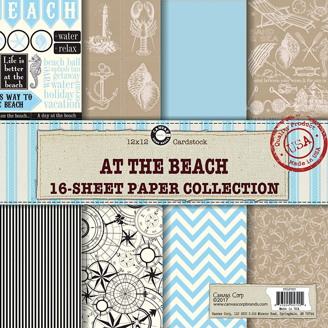 Canvas Corp at The at The Beach Paper Collection