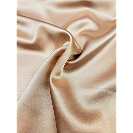 Pattern length 0.6 m Silk satin fabric.Original fabric Stretch silk fabric Designer fabric