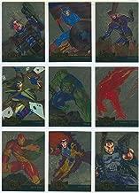 1995 Marvel Metal Inaugural Ed. GOLD BLASTER Insert Set of 18 Cards NM/M X-Men, Spider-Man