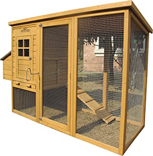 "Pets Imperial Monmouth Large Chicken Coop 6ft 7"" in Length with Roof That Opens Suitable for Up to 4 Birds"