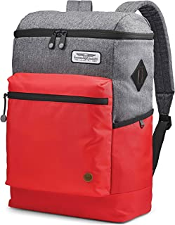American Tourister Oscar Backpack Grey/Red