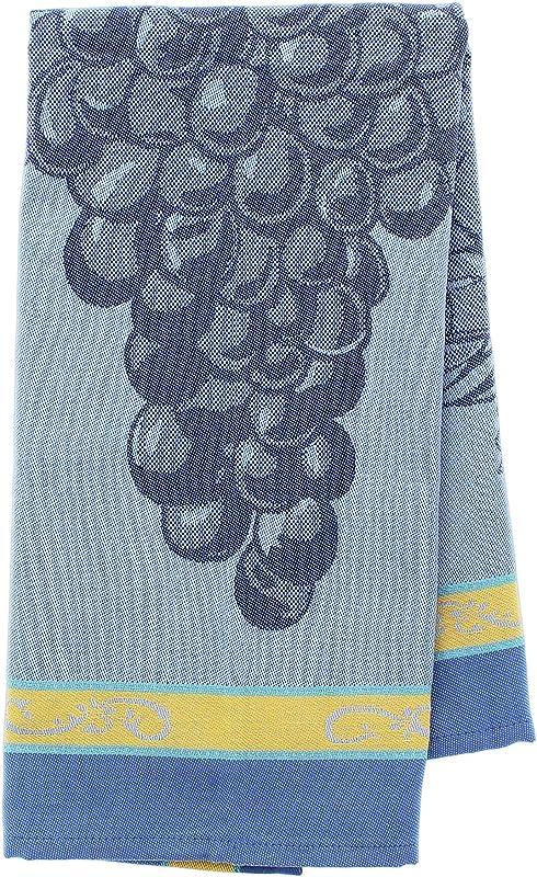 Mierco European Woven Jacquard Tea Towel Grapes