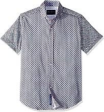 Robert Graham Men's Myron Short Sleeve Slim Fit Shirt