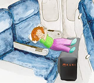 Inflatable Travel Pillow Bed / Leg Rest For Kids to Lie Down & Sleep on Long Flights Long Distance Journeys in Cars on Bus...