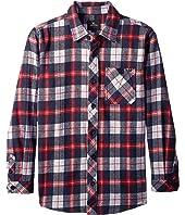 Rip Curl Kids - Teller Long Sleeve Flannel Shirt (Big Kids)