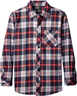 Teller Long Sleeve Flannel Shirt (Big Kids)