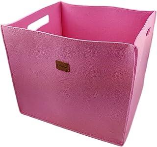 Venetto Lot DE 3boites Feltbox Faite à la Main Boîte de Rangement en Feutre Panier Caisse en Feutre, Boîtes pour IKEA Éta...