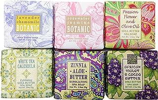Spring Garden Bloom Flower Shea Butter Soap Gift Set
