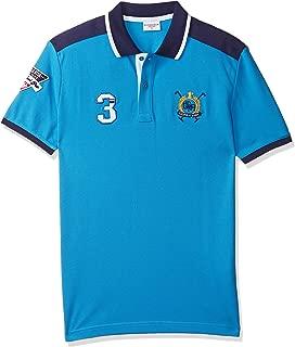 US Polo Assn Men's HOLD Regular Fit T-shirt, Indigo, S