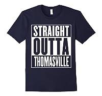 Straight Outta Thomasville Shirts Navy