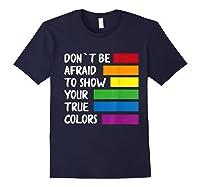 Queer Same Love Lgbtq Lgbt Funny Pride Parade Rainbow Shirt Navy