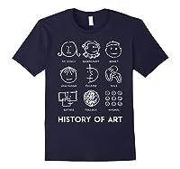 History Of Art For Teas, Students, S, Love Art T-shirt Navy