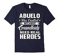 365 Abuelo Funny Grandpa Grandfather Gift Shirts Navy