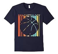Basketball Madness 2019 Bracketology Tournat College S Shirts Navy
