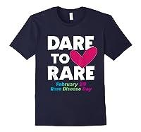 Dare To Love Rare Disease Day 2020 Shirts Navy
