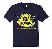 Mtv Yo! Raps Shirts Navy