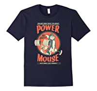 Tom And Jerry Power Mouse T-shirt Navy