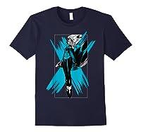 Marvel X- Storm Color Pop Box Graphic T-shirt Navy