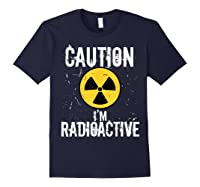 Radiation Therapy Funny Cancer Get Well Soon Gift Survivor T-shirt Navy