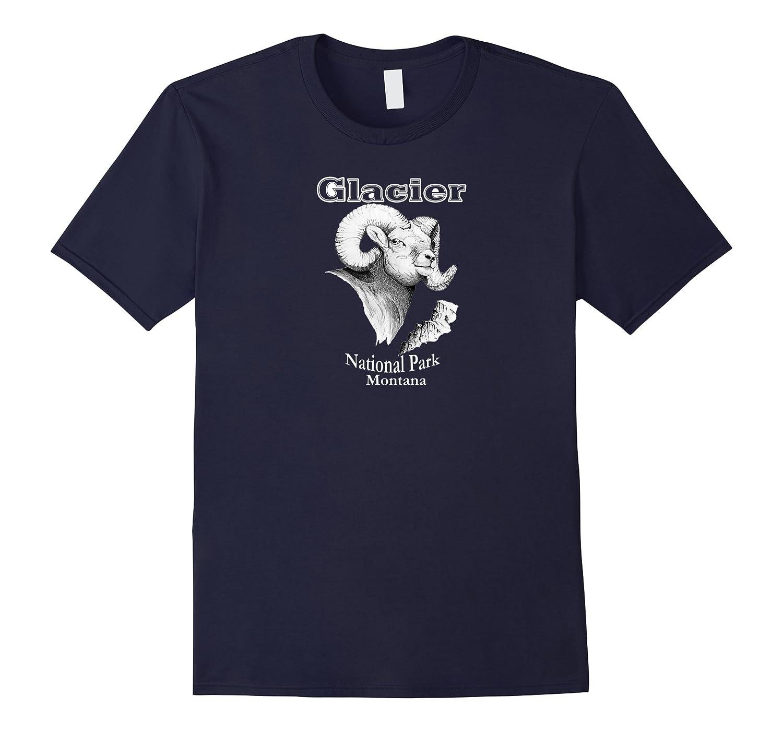 Glacier National Park. Bighorn Ram. Montana T-shirt