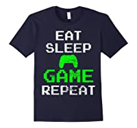 Gaming Console Vintage Shirts Navy