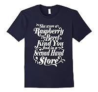 She Wore A Raspberry Beret T Shirt Navy