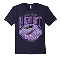 Aladdin Jasmine Let Your Heart Decide Ride Shirts Navy