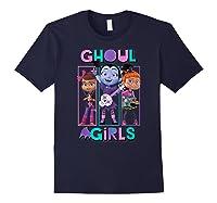 Vampirina Ghoul Girls Trio Shirts Navy