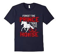 Rider Prefers Horses Shirts Navy