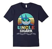 Uncle Shark Doo Doo T-shirt Navy