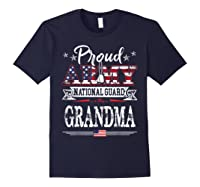 Proud Army National Guard Grandma U S Military Gift Shirts Navy