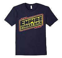 Star Wars The Empire Strikes Back Vintage Logo T-shirt Navy
