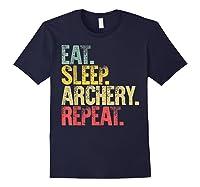 Eat Sleep Repeat Gift Shirt Eat Sleep Ary Repeat T-shirt Navy