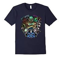 Terraria Boss Rush Hardmode Edition Shirts Navy