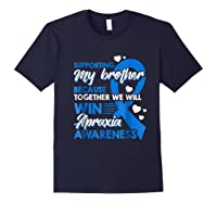 Supporting My Brother Together We Win Apraxia Shirts Navy