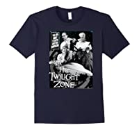 Twilight Zone About To Enter Another Dision Shirts Navy