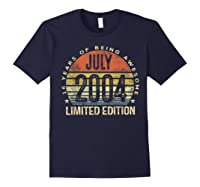July 2004 Limited Edition 16th Birthday 16 Year Old Gift Shirts Navy