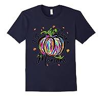 I Love Being A Momom T Shirt T-shirt Navy