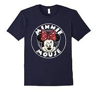 Circle Minnie Shirts Navy