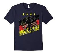 Germany Soccer Style Deutschland 1990 Shirts Navy